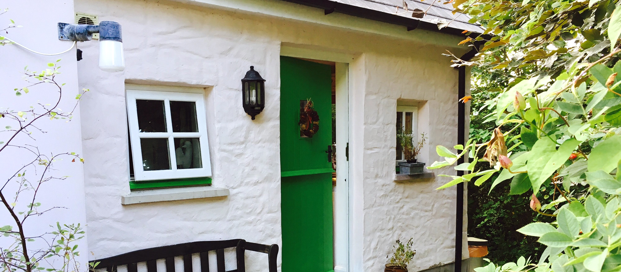 View of Y Cwtch Self catering Cottage